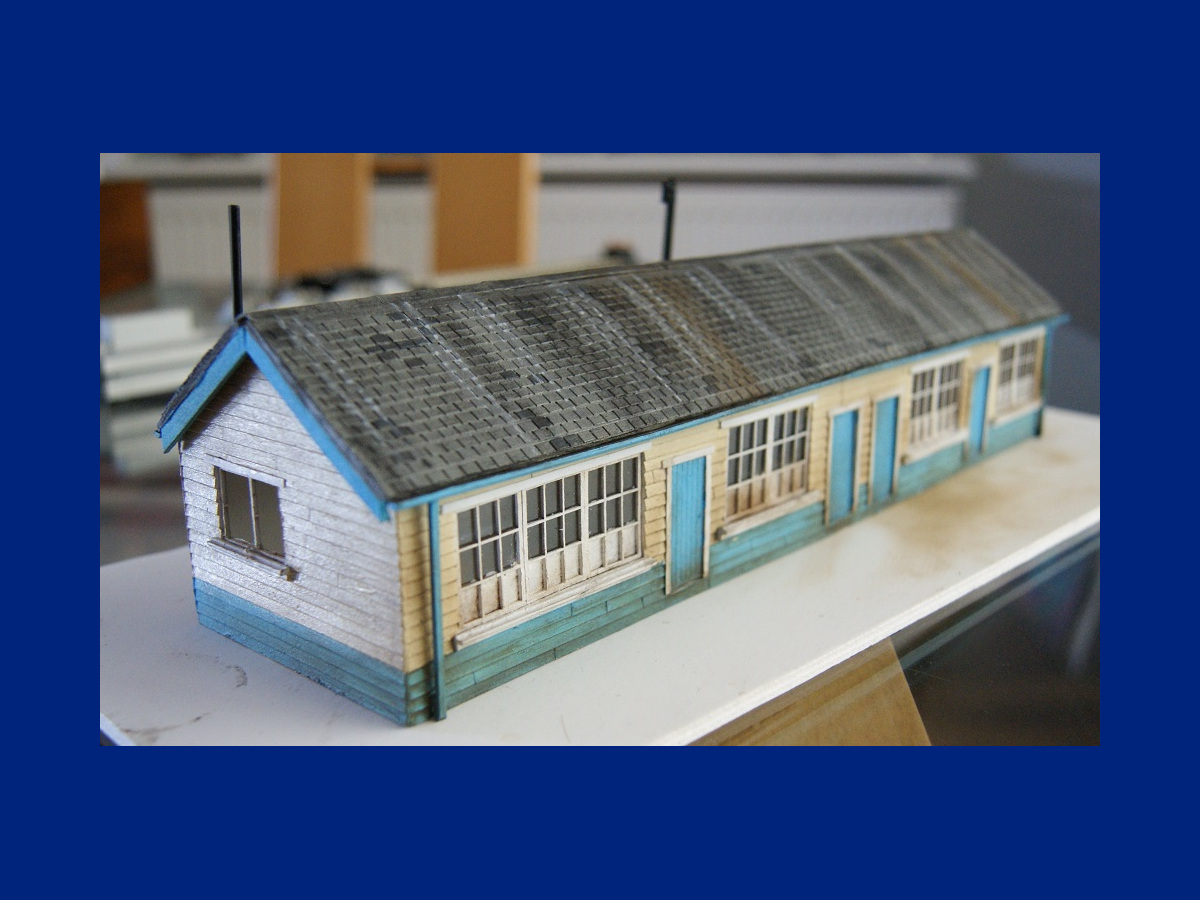 """Building showcasing the BM 40-00 roof tile strips. Beautifully finished by Clare and Martin with acrylics, weathering powder, and lacquer."" Submitted by Claire and Martin Gilmore on 15th September 2017"