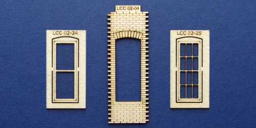Image showing selection of 02 LCC series; station buildings.