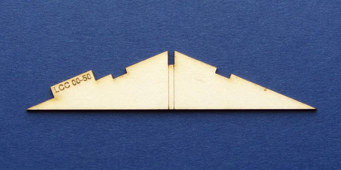 LCC 00-50 OO gauge low angle roof support