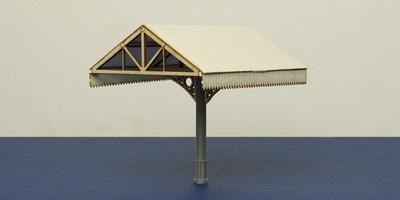 B 00-28M OO gauge canopy - middle section