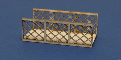 B 00-31E3 OO gauge GWR style bridge span extension type 2