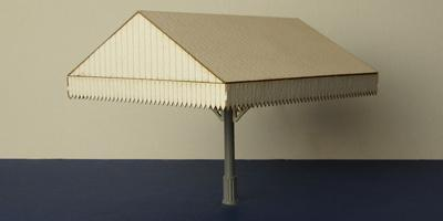 B 70-09E O gauge canopy - end section