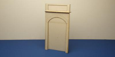 B 70-17 O gauge retaining wall unit