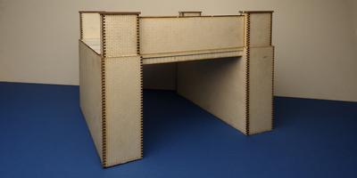 B 70-18 O gauge brick bridge