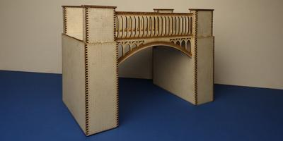 B 70-19 O gauge brick and iron bridge
