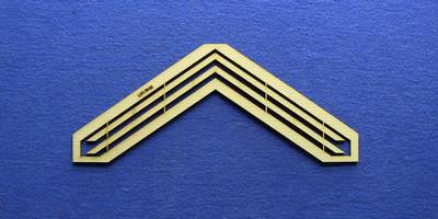 LCC 00-22 OO gauge kit of 2 large gable barge boards