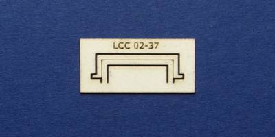LCC 02-37 OO gauge decoration for square window type 1