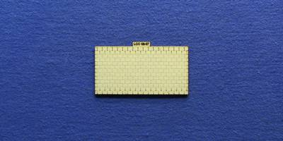 LCC 03-07 OO gauge small signal box roof tiles panel