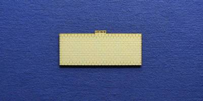 LCC 03-18 OO gauge medium signal box roof tiles panel