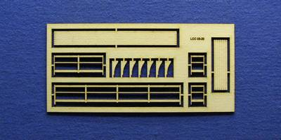 LCC 03-20 OO gauge medium signal box balcony
