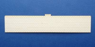 LCC 03-40 OO gauge large signal box roof tiles panel