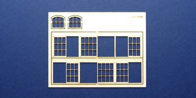 LCC 03-44 OO gauge set of windows for 03-11 type 1