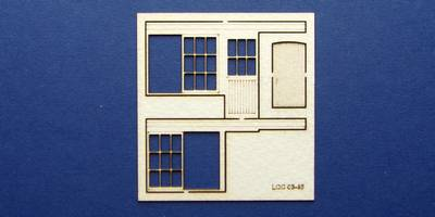LCC 03-46 OO gauge set of windows for 03-13 type 1