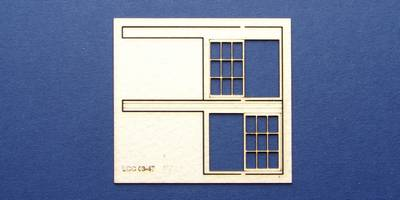 LCC 03-47 OO gauge set of windows for 03-14 type 1