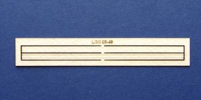 LCC 03-49 OO gauge wooden wall for 03-16