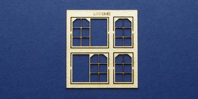 LCC 03-52 OO gauge set of windows for 03-22 to 03-25 type 2
