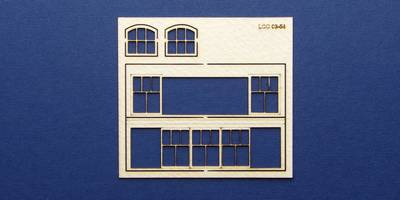 LCC 03-54 OO gauge set of windows for 03-00 type 3