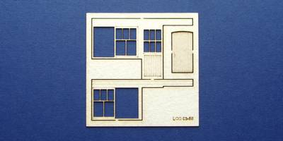 LCC 03-56 OO gauge set of windows for 03-02 type 3