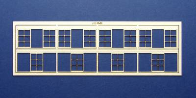 LCC 03-60 OO gauge set of windows for 03-32 type 4