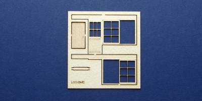 LCC 03-62 OO gauge set of windows and doors for 03-34 type 4