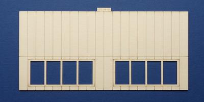 LCC 04-107 OO gauge north light style engine shed roof panel