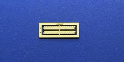 LCC 04-12 OO gauge horizontal wall decoration with compensation