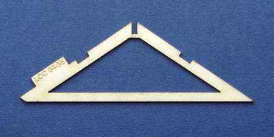 LCC 04-55 OO gauge engine shed roof support extension type 2
