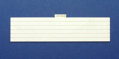 LCC 04-84 OO gauge plank panel for coal staithes type 1