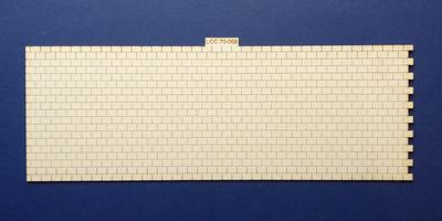 LCC 70-06B O gauge roof tiles expansion with right side interlocking
