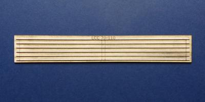 LCC 70-110 O gauge canopy support strips