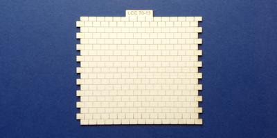 LCC 70-13 O gauge roof tiles 92mm extension panel