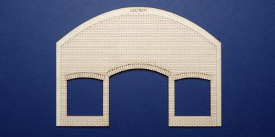 LCC 70-71 O gauge brick underarch with warehouse fittings