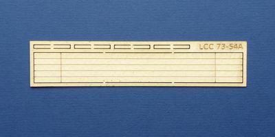 LCC 73-54A O gauge small signal box point rod walkway
