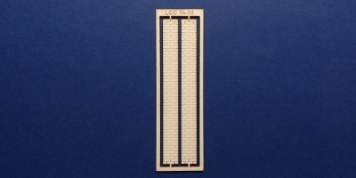 LCC 74-10 O gauge vertical wall decoration