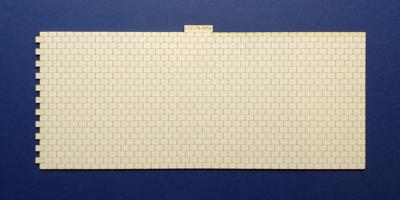 LCC 74-101A O gauge roof tiles expansion with left side interlocking