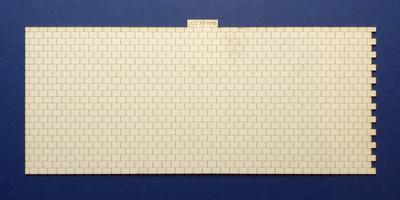 LCC 74-101B O gauge roof tiles expansion with right side interlocking