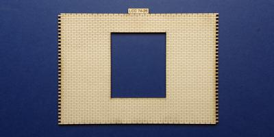 LCC 74-26 O gauge industrial gate wall panel