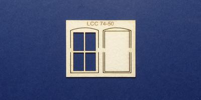 LCC 74-50 O gauge goods shed office window