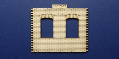 LCC 74-75 O gauge industrial office front panel