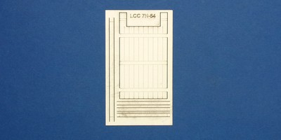 LCC 7N-54 industrial sliding gate - single