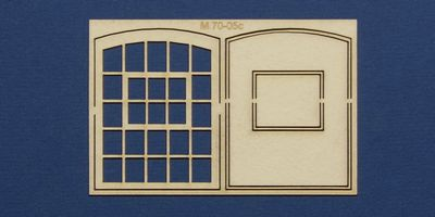 M 70-05c O gauge warehouse style window type 2