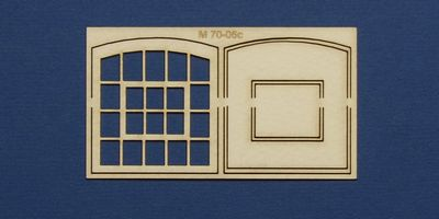 M 70-06c O gauge warehouse style window type 3