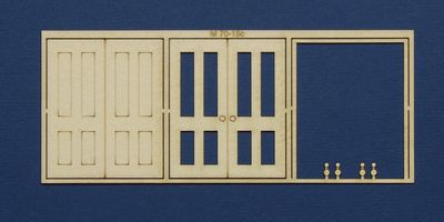 M 70-15c O gauge double door type 1