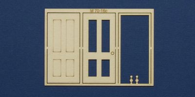 M 70-16c O gauge single door type 1
