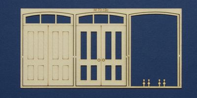 M 70-19c O gauge double door with round transom type 1