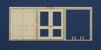 M 70-21c O gauge double door type 2