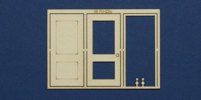 M 70-22c O gauge single door type 2