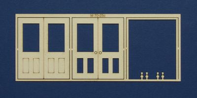 M 70-25c O gauge double door type 3