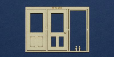 M 70-26c O gauge single door type 3