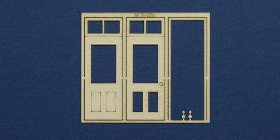 M 70-28c O gauge single door with square transom type 3